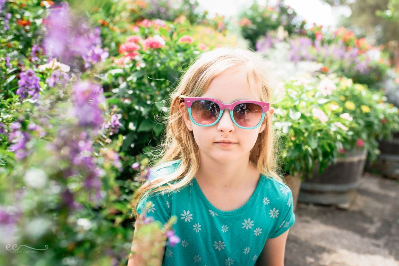 flowers_portrait_reflection_in_sunglasses |I see you _by Eileen Critchley